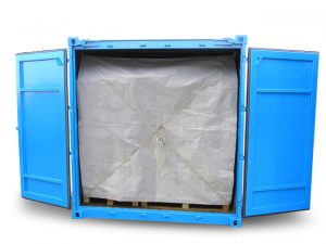Container-Plane Rückhaltesystem