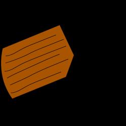 Zeichnung Hinweis Einsatz von Kanthölzer 4,5 x 13,5 cm