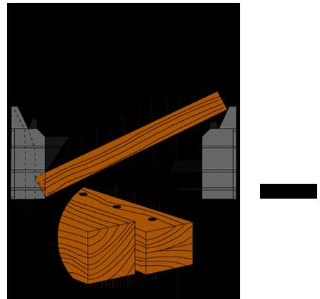 Zeichnung 4a. Kantholz einbringen