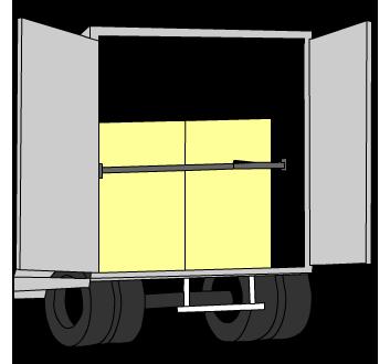 Zeichnung Logipad im LKW