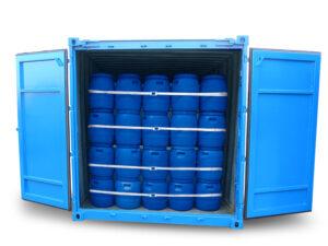 Container-Lashing Rückhaltesystem